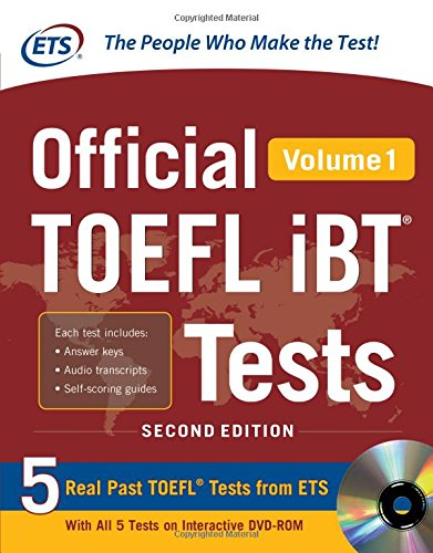 Official TOEFL iBT® Tests Volume 1, 2nd Edition by MCGRAW-HILL Professional