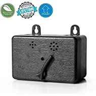 KCSC Mini Bark Control Device, Anti Barking Deterrent, Training Tool, Stop Barking, Safe Dogs, Indoor/Outdoor use, up to 50 Feet Range (Upgraded)