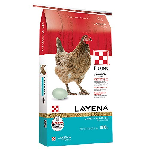 Purina Premium Poultry Feed Layena Crumbles