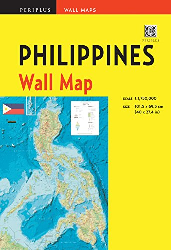 Map Scales (Philippines Wall Map Second Edition: Scale: 1:1,750,000; Unfolds to 40 x 27.5 inches (101.5 x 70 cm) (Periplus Wall Maps))