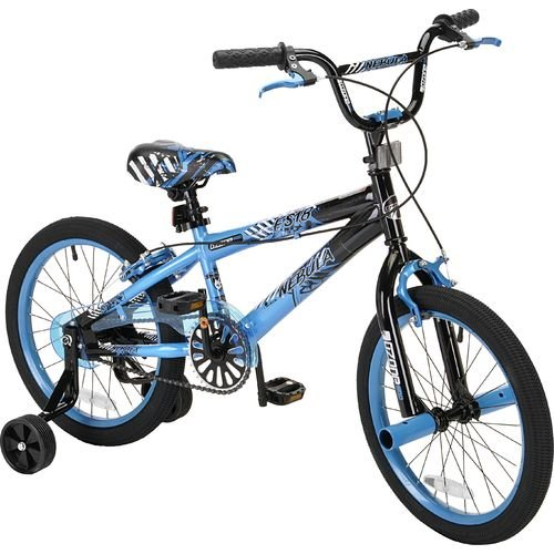pacific 500 boys nebula 18 freestyle bmx bicycle blue. Black Bedroom Furniture Sets. Home Design Ideas