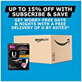 U by Kotex Barely There Liners, Light
