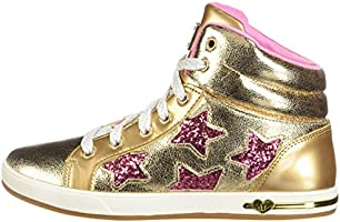 3759e2538d9de Skechers Kids Girl's Shoutouts 84320L (Little Kid/Big Kid) Gold 4 M ...
