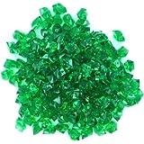 WeGlow International Acrylic Ice Gem Stones, Dark Green