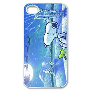 High Quality Phone Back Case Pattern Design 4Popular Cartoon Snoopy Series- For Iphone 4 4S case cover