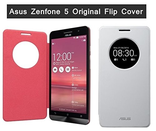 save off 0b054 68e70 Asus Flip Cover For Asus Zenfone 5 (Red)