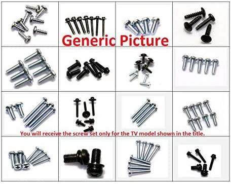 LG 55UB8500 Complete Screw Set for Base Stand Pedestal and Neck