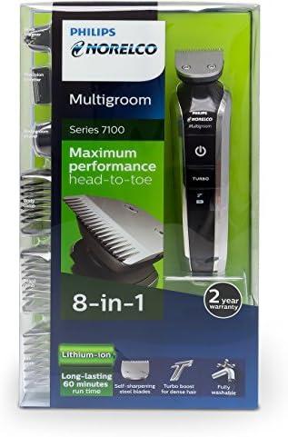 Philips Norelco Multigroom Series 7100, 8 accesorios, qg3390 ...