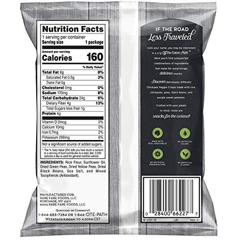 Off The Eaten Path Veggie Crisps Mix 2 Flavor Variety Pack (1.25 oz., 26 Ct.)