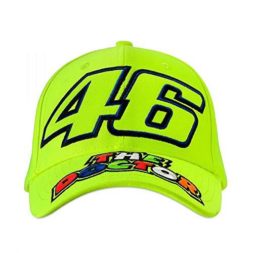 (Valentino Rossi Fluorescent Vr46 The Doctor Snapback Cap (Default, Yellow))