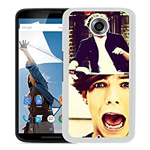 louis tomlinson White Hard Plastic Google Nexus 6 Phone Cover Case