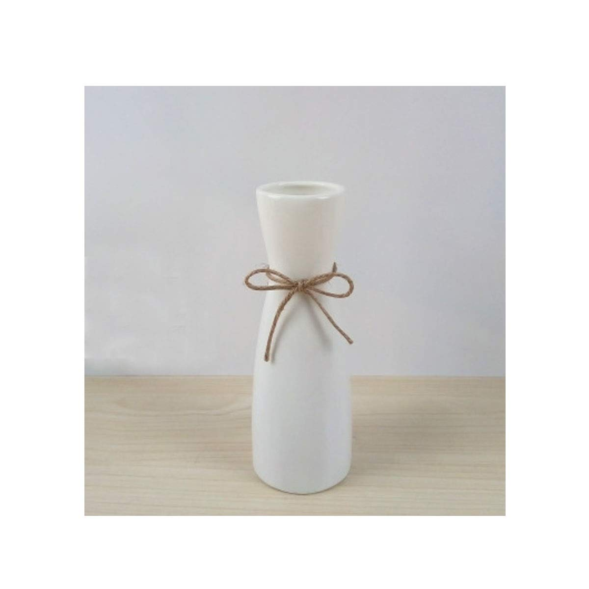 花瓶、クリエイティブ星空セラミック花瓶、リビングルームのカウンタートップ小さな新鮮なドライフラワーのアレンジメントシンプルモダンなスタイル、白の長さ20 cm (Color : White 1) B07RSY2MVJ White 1