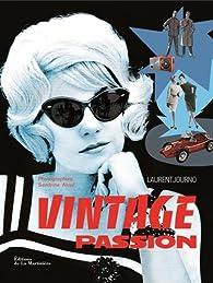 Book's Cover ofVintage. Une passion