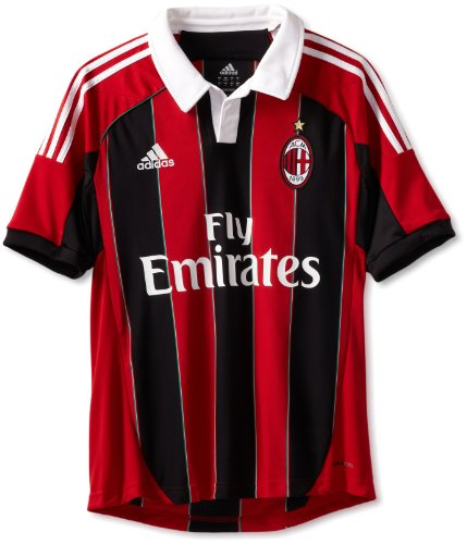 AC Milan Soccer Home Jersey, Medium, - Jersey Home Milan Ac