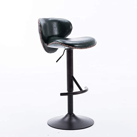 Surprising Amazon Com Abarb Cuban Bar Stool With Backrest Faux Ncnpc Chair Design For Home Ncnpcorg