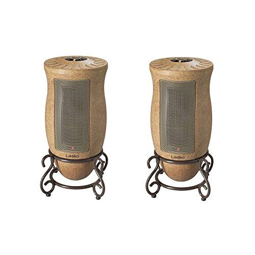 (Lasko 1500W Designer Series Decorative Base Oscillating Ceramic Heater (2)