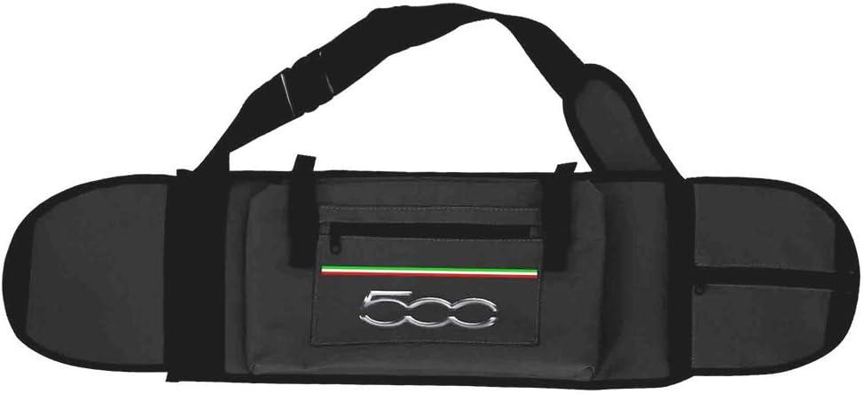One Size Black Fiat500/skatebagk70/Skateboard Bag