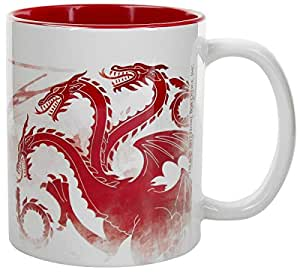 ABYstyle–Marvel Game of Thrones Taza Red Dragon Unisex-Adult, abymug384