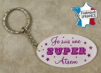 eaac48b9d9f2 Porte Clef Je suis une Super ATSEM - Le Cadeau Original de Fin d Année
