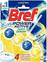 Bref Power Active Juicy Lemon Rim Block Toilet Cleaner, 50g