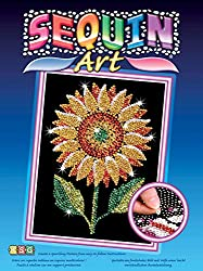 Sequin Sunflower Sparkling Arts/Crafts