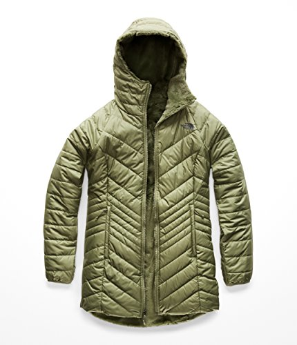 - The North Face Women's Mossbud Insulated Reversible Parka Four Leaf Clover Medium
