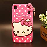 Delkart Nice Kitty Cover for lenovo A7000/ k3 Note (Pink)