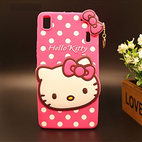 Delkart Cat Cover For lenovo A7000/ k3 Note  Pink
