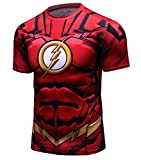 Red Plume Men's Compression Sport T-Shirt Tight