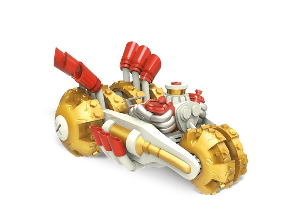Skylanders Superchargers Vehicle: Gold Rusher