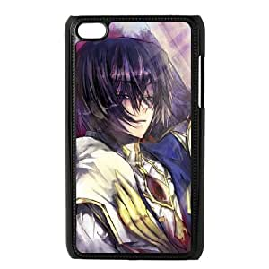 Code Geass iPod Touch 4 Case Black TPU Phone Case SV_197533