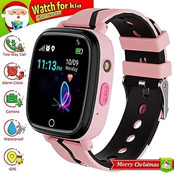 Amazon.com: Kids Smartwatch with GPS Tracker, Kids Smart ...