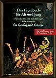 Das Fetenbuch für Alt und Jung: 100 Lieder und Hits zum Mitsingen, leicht arrangiert für Gesang und Gitarre. Gesang und Gitarre. Liederbuch.