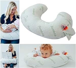 Amazon.com: Funda de almohada de bambú para lactancia ...
