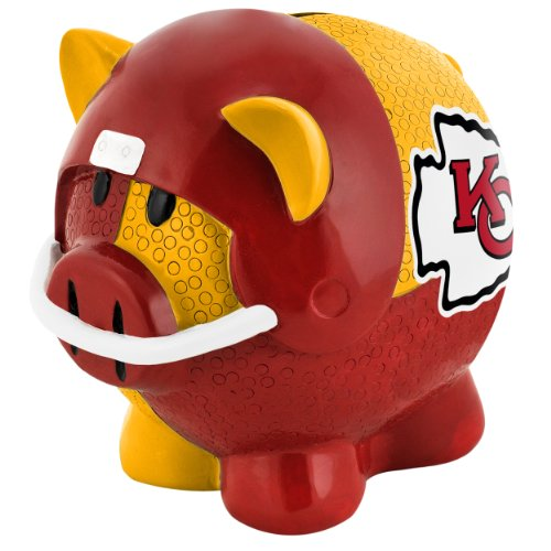 Kansas City Chiefs Thematic Piggy Bank