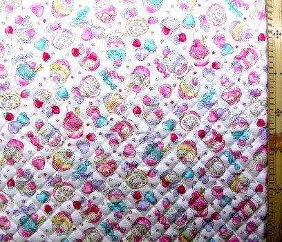 <Qプリント・キルティング生地>カップケーキ(オフ)#2 (スイーツ スウィーツ フルーツ 果物 かわいい おしゃれ 男の子 女の子 子供 入園 入学 ピロル)の商品画像
