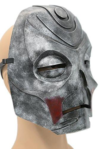 Skyrim Mask Elder Dragon Scrolls Silver Resin Mask Game Cosplay Props XCOSER