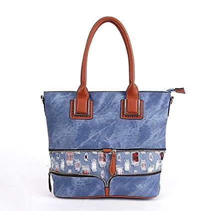 Generic Designer jeans bag Denim Handbags Large Women Messenger Bags Purses  Jean Bags Women Big Hobos Ladies Travel Hand Bags Tote Cross  Amazon.in   Bags edb913ba8efa4