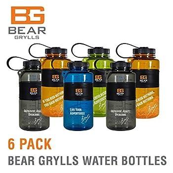 Bear Grylls Water Bottle (6 Pack)