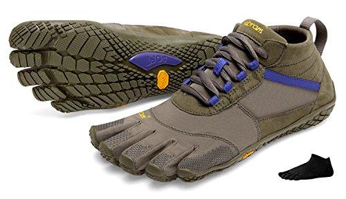 nbsp;– pour avec FiveFingers de de Vibram femme avec à orteils femme V Orteil de nbsp;Chaussures nbsp;– chaussettes chaussette chaussures Military orteils Purple trekking de trek nbsp;Set PIwYI
