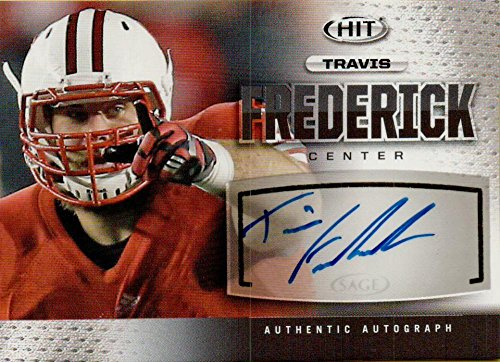 Football NFL 2013 Hit Autographs #A27 Travis Frederick Auto by