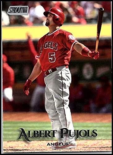 Albert Pujols Baseball - 2019 Topps Stadium Club #45 Albert Pujols Los Angeles Angels Baseball Card
