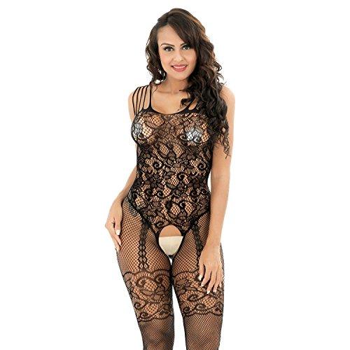 5x fishnet dress - 9