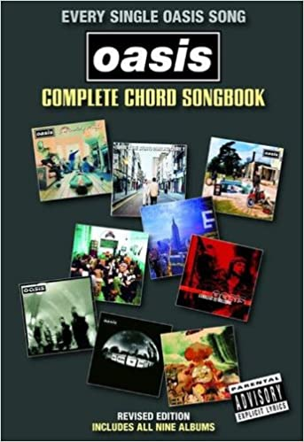 Oasis Complete Chord Songbook Revised Oasis Rock Group