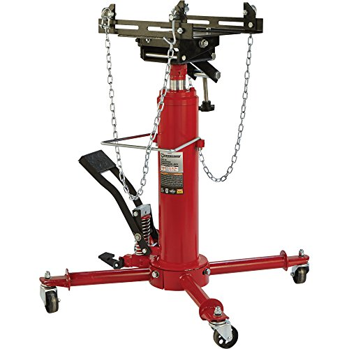 Oil Capacity Lifts Parts : Strongway stage telescoping transmission jack ton