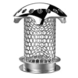 BABATH Tub Drain Hair Catcher - Stainless Steel Bathtub Drain Protector Strainer