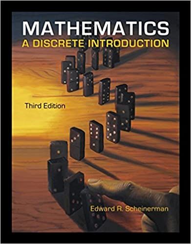 Mathematics a discrete introduction edward a scheinerman mathematics a discrete introduction 3rd edition fandeluxe Gallery