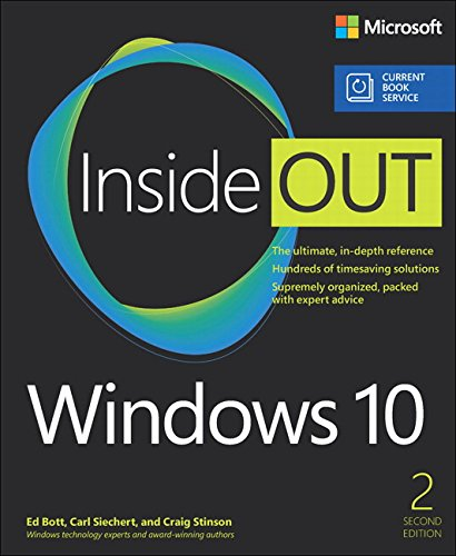 Price comparison product image Windows 10 Inside Out (includes Current Book Service) (2nd Edition)