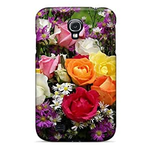 Pretty BxRCbRV8346ekQYp Galaxy S4 Case Cover/ Summer Bouquet Series High Quality Case