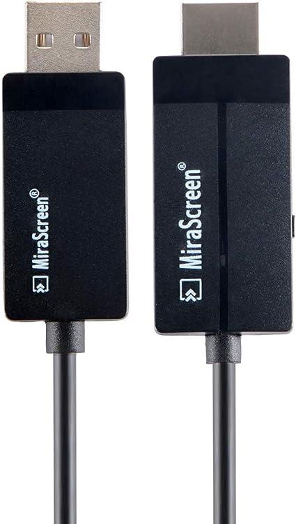 kreema Smart Wireless Adaptador de vídeo HD 1080 p duplicado de Pantalla Cable conversor de HDMI Receptor para teléfono móvil Ordenador portátil de TV HDTV Proyector: Amazon.es: Electrónica